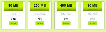 idea plans idea 4g plans india cellular broadband plans bsnl airtel