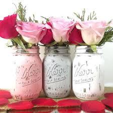 Mason Jar Wedding Decorations Bridal Shower Table Centerpieces U2013 Thelt Co