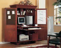 Armoire Desks Home Office Crossings Armoire Desk Organize Me Pinterest Best Armoires