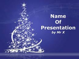christmas lights powerpoint template christmas powerpoint
