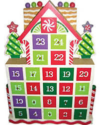lighted santa s workshop advent calendar amazing deal on gingerbread advent calendar by santa s workshop