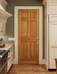 Solid Oak 6 Panel Interior Doors Our New Home Has Oak Trim With Matching 6 Panel Doors Throughout
