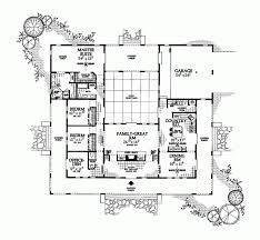 style home plans with courtyard garden plans ideas style square central cabin landscaping mi house