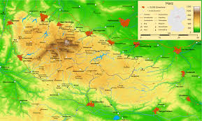 Black Forest Germany Map by Harz Wikipedia