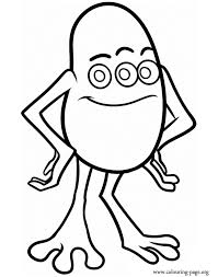 Monsters University Fungus Coloring Page Coloring Pages Monsters