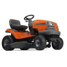 shop husqvarna lth18538 18 5 hp hydrostatic 38 in riding lawn