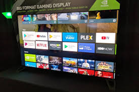 the best smart tv at ces is this giant nvidia gaming display