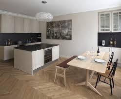 cuisine appartement parisien appartement haussmannien artois cuisine salle à manger