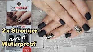 impress press on manicure from kiss youtube