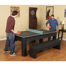 pool table combo set park avenue 7 ft pool table set with benches and top pool warehouse