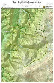 Map West Virginia by West Virginia Dnr Wma Map Project