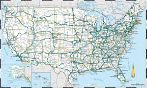 50 States Map With Capitals by Usa Map States Hwy At Maps