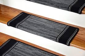 Modern Stair Tread Rugs Dean Modern Diy Bullnose Wraparound Non Skid Carpet Stair Treads