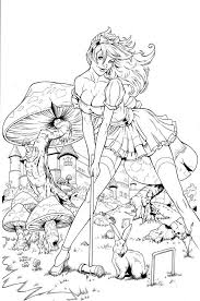 alice in wonderland color pages 45 best coloring pages images on pinterest coloring books
