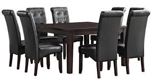 simpli home eastwood 9 piece dining set u0026 reviews wayfair
