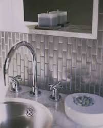 Steel Tile Backsplash by 73 Best Stainless Steel Tile Images On Pinterest Stainless Steel