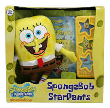 spongebob squarepants sound book u0026 plush toy by nickelodeon