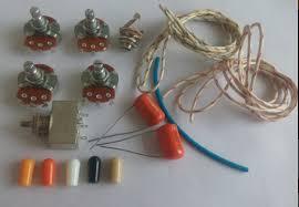 wiring kit for les paul lp custom alpha a b 500k pot 3 way box