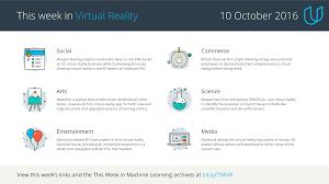 this week in virtual reality 10 october 2016 u2013 udacity inc u2013 medium