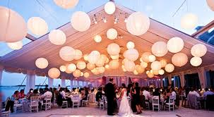 White Paper Lantern String Lights by 1 Toronto String Lighting Rentals Globe String Lights Toronto