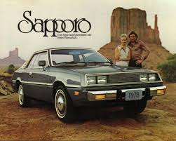 mitsubishi dodge challenger car of the week 1978 plymouth sapporo ny daily