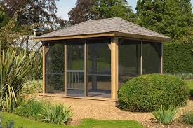 Screened In Pergola by Pavilion And Pergola Options Lykens Valley Gazebos And Outdoor