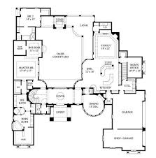 1 story luxury house plans plans 17th century house plans one story floor 17th free home