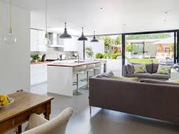 open concept kitchen houzz normabudden com