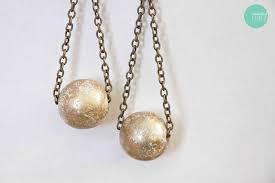 diy drop earrings diy gilded drop earrings how to make a pair of chandelier