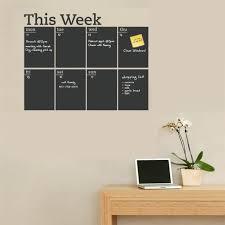 tableau de bureau cette semaine tableau autocollant amovible vinyle blackboard bureau