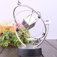 Metal Home Decorating Accents Decorative Accents Silver Physics Science Metal Balance Newton