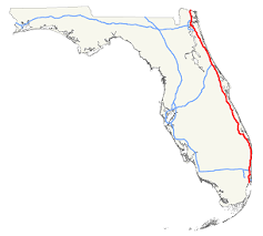 highway i 95 florida exits summary