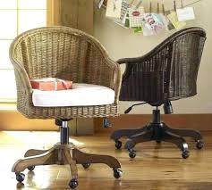Desk Office Chair Rattan Desk Chair Wicker Office Chair Charming Wicker Office Chair