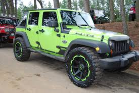 gecko green jeep gallery socal custom wheels