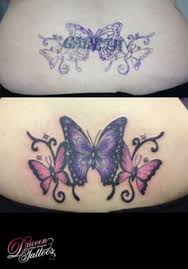 butterfly cover up redo butterfly and