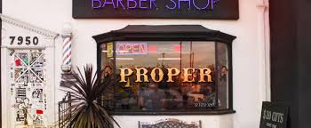 the proper barbershop los angeles