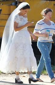 what kind of veil goes with a tea length dress weddingbee