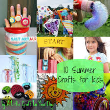 kid friendly summer crafts a little craft in your day