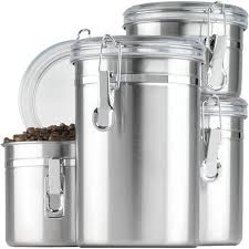 anchor hocking 4 piece kitchen canister set u0026 reviews wayfair