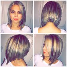 grey hair 2015 highlight ideas a line haircut and blonde highlights hair colors ideas