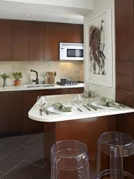 tiny apartment kitchen design glass light stainless steel
