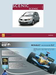 renault grand scenic manual airbag seat belt