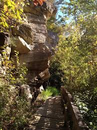 Matthiessen State Park Trail Map by Great Hiking Trail In Blackhawk State Park In Rock Island Il