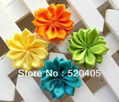 satin ribbon flowers aliexpress buy fashion show flowers hair accessories satin