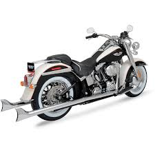 python fishtail true duals exhaust system 1800 1311 harley