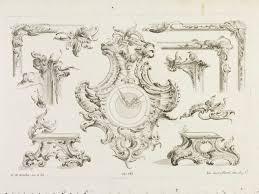 design for rococo ornament rosscher georg michael v a search