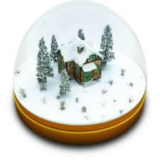 snow globe icon iconset archigraphs