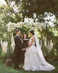 a formal romantic garden wedding in california martha stewart