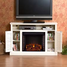 antique white electric fireplace portablefireplace home