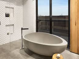 what you can have in bathroom with a standalone tub  the decoras  with image of rustic bathroom interior with oval white standing stone tub and  pertaining to standalone from jchansdesignscom